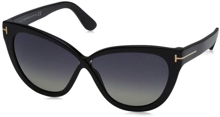 Tom Ford Sunglasses 0511 Arabella 01D Shiny Grey Polarized