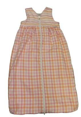 Camilla And Marc Tavolinchen 35/543 35 - Terry Gingham Dress Sleeping Bag 90 cm Pink