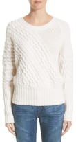Burberry Women's Mixed Stitch Wool & Cashmere Sweater