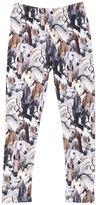 Molo Horses Printed Jersey Leggings