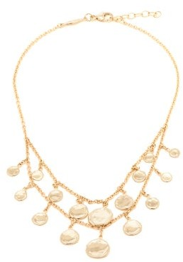 Jacquie Aiche Charm-embellished 14kt Gold Anklet - Gold