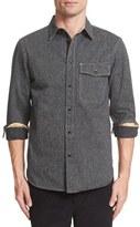 Rag & Bone Men's Cpo Woven Cotton Shirt