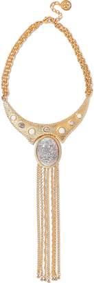 Ben-Amun Ben Amun 24-karat Gold-plated Stone Necklace