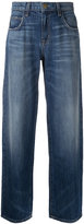 Current/Elliott straight-leg jeans - women - Cotton/Lyocell - 25