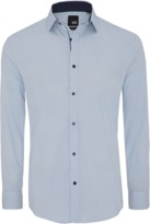 yd. Yates Slim Fit Dress Shirt