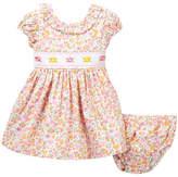 Iris & Ivy Smocked Bodice Princess Dress (Baby Girls)