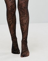 Leg Avenue Halloween Spider Lace Tights