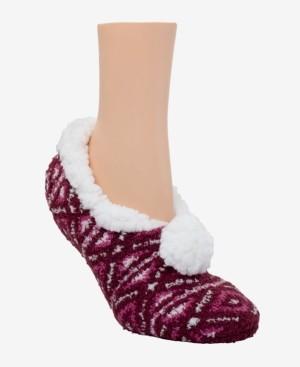 Cuddl Duds CuddlDuds Sherpa Lined Ballerina Slipper Socks
