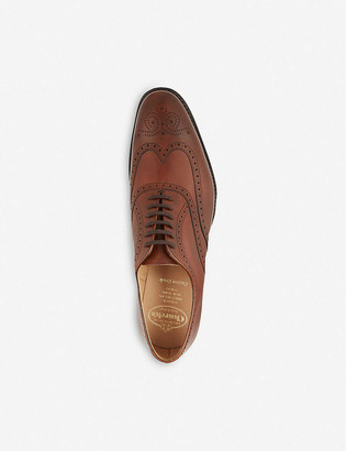 Church's Berlin punched wingcap Oxford shoes