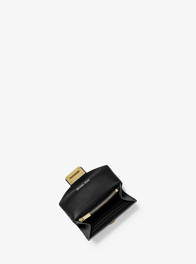 23af00f39589 Michael Kors Metallic Wallet - ShopStyle