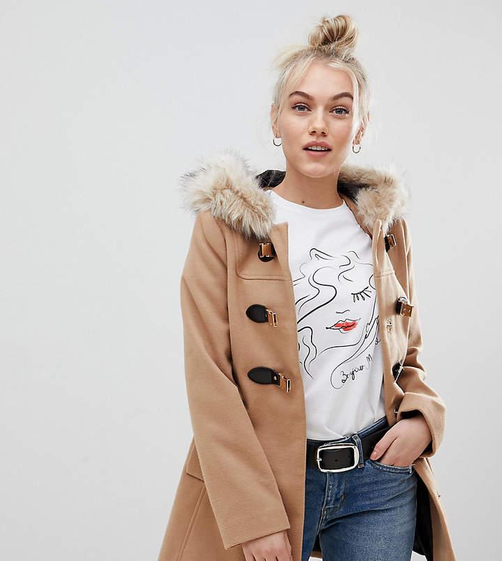 d00c0c22ffd39 Hooded Duffle Coat Women - ShopStyle Canada