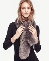 Ann Taylor Faux Fur Stole
