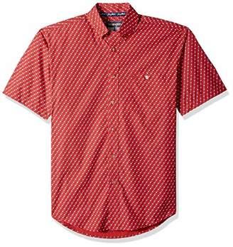 Wrangler Men's George Strait Short Sleeve Button Front Shirt