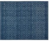 Pottery Barn Kala Printed Rug - Midnight