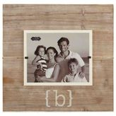 "Mud Pie Letter ""B"" 8-Inch x 10-Inch Wood Picture Frame"