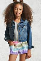 Forever 21 FOREVER 21+ Girls Tie-Dye Shorts (Kids)