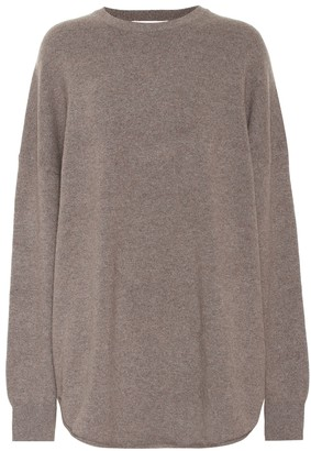 Extreme Cashmere Crew Hop cashmere-blend sweater