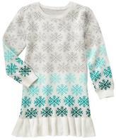 Gymboree Snowflake Sweater Dress