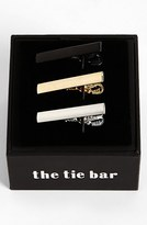 The Tie Bar Men's Brass Tie Bar (3-Pack)