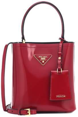 Prada Panier Small leather shoulder bag