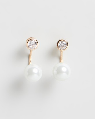 Carly Paiker Aura Pearl Ear Jacket Earrings