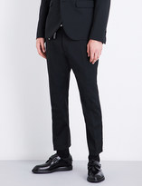 DSQUARED2 Biker slim-fit tapered stretch-wool trousers