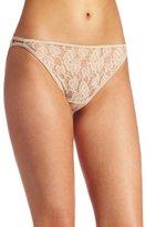 Vanity Fair Women's Illumination Helenca Lace Bikini Panty 18202