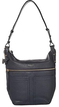 Radley London Kensal - Large Zip Top Hobo (Ink) Hobo Handbags