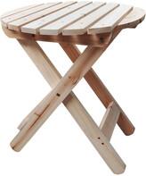 Adirondack Shine Co Round Folding Table