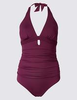 M&S Collection Secret SlimmingTM Plunge Swimsuit
