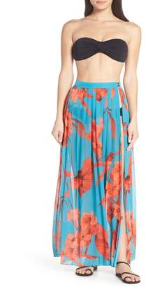 Ted Baker Arialee Fantasia Pleated Cover-Up Maxi Skirt