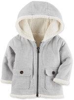Carter's Hooded Fleece Jacket, Baby Boys (0-24 months)