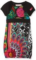 Desigual Girl's Vest_Niamey Dress,(Manufacturer Size: 5/6)