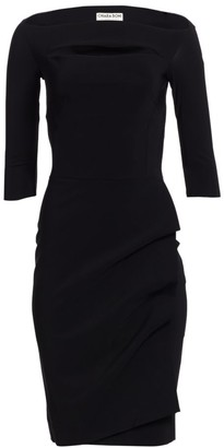 Chiara Boni Kate Boatneck Dress