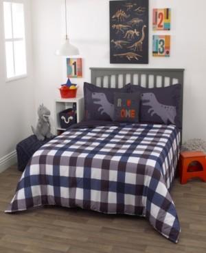 Everything Kids Roarsome 3-Piece Full Bedding Set Bedding