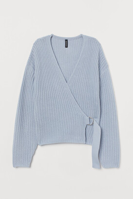 H&M D-ring-belted Cardigan