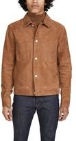 Paul Smith Mens Suede Rider Jacket