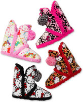 Hello Kitty Super Plush Booties with Pom Poms Slippers
