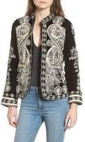 Raga Embroidered Velvet Jacket
