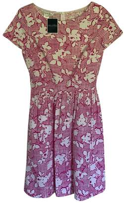 Oscar de la Renta Pink Cotton - elasthane Dresses