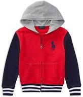 Ralph Lauren Boys' French Terry Varsity Jacket - Little Kid