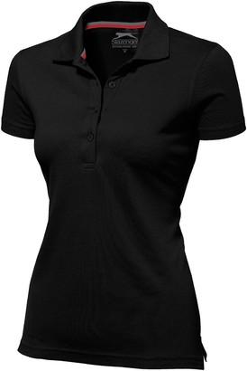 Slazenger Advantage Short Sleeve Ladies Polo - Black M
