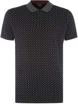 Merc Men's Short Sleeve Polka Dot Polo