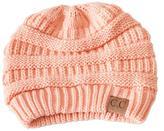 C.C. Peach Knit Beanie