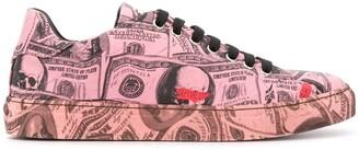 Philipp Plein Pink Paradise low-top sneakers