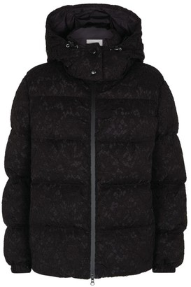 Valentino Lace Puffer Coat