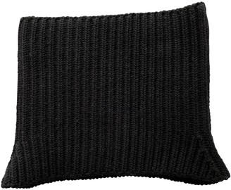 Neil Barrett Black Wool Scarves & pocket squares