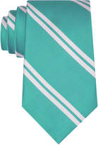 Club Room Men's Double Awning Stripe Tie, Created for Macy's
