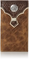 Nocona Western Wallet Men Leather Rodeo Overlay Concho N54938166