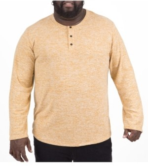 Mvp Collections By Mo Vaughn Productions Mvp Collections Men's Big & Tall Ultra Soft Henley
